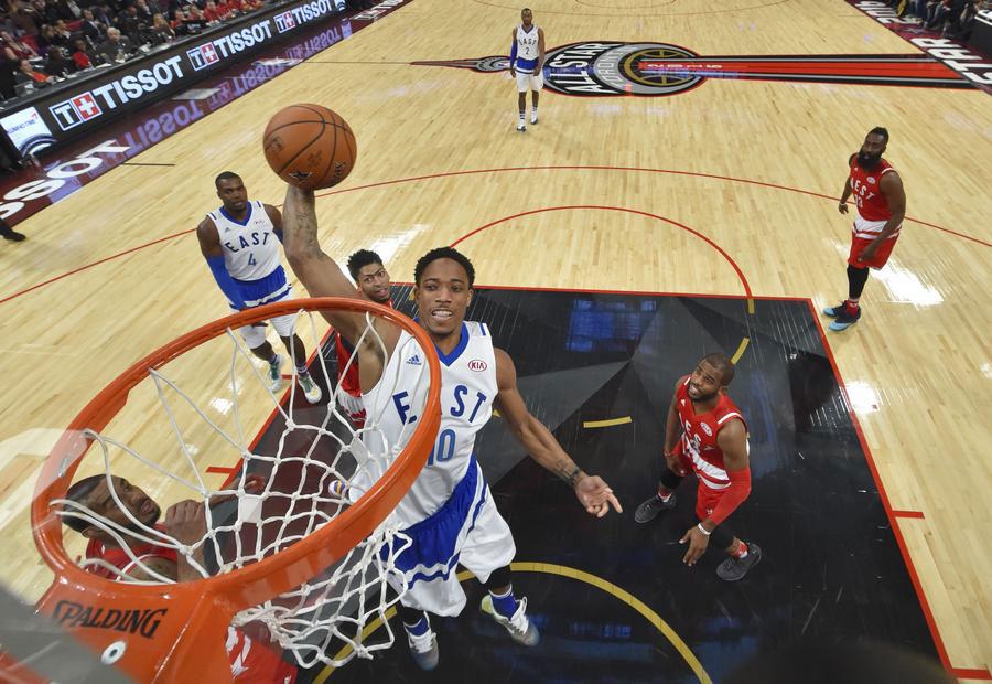 NBA : victoire de la Conférence Ouest face à la Conférence Est dans le All-Star Game