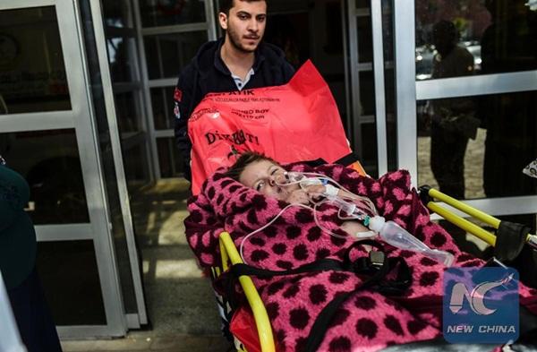 بدء دخول المساعدات الإغاثية الى بلدة معضمية الشام بريف دمشق الجنوبي