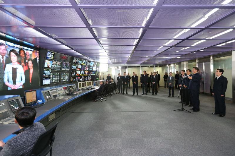 حديث الرئيس شي عبر الفيديو مع فريق فرع تلفزيون الصين المركزي لدى أمريكا الشمالية