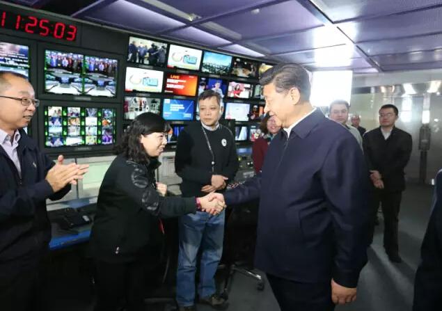 习近平来到中央电视台调研!u15在线观看视频图片