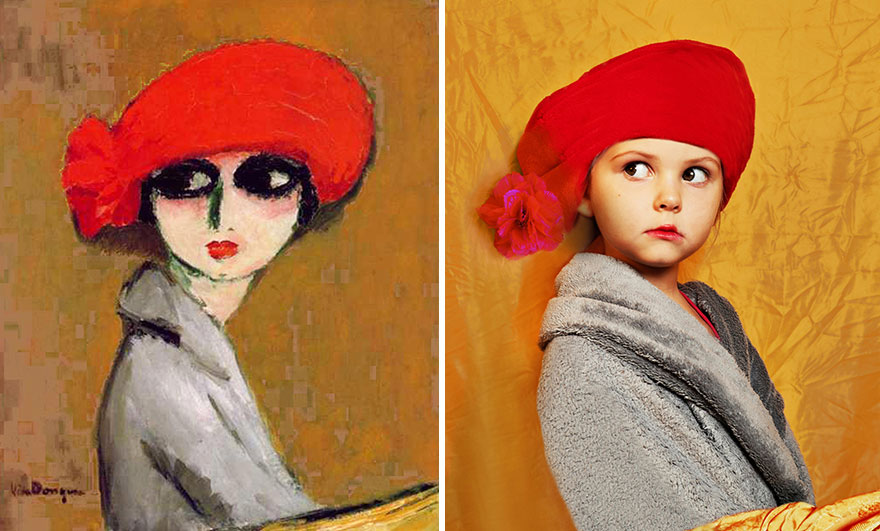 Un jour, quand Lucie Kruta photographiait son bébé, elle s