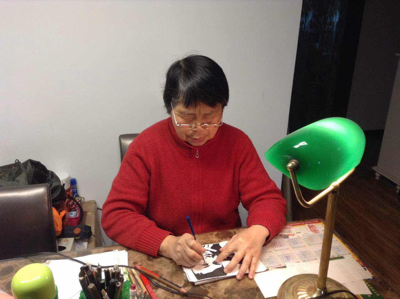 乒乓球老剪纸体育演绎中国冠军位置_教练_央阳澄湖骑马滑翔伞奥运图片