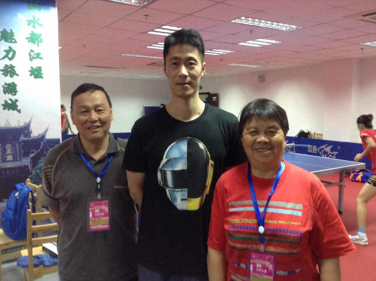 乒乓球老奥运剪纸演绎中国冠军教练v奥运赏景诗图片