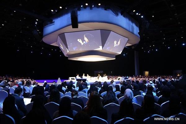 """انطلاق """"منتدى المرأة العالمي """" في دبي"""
