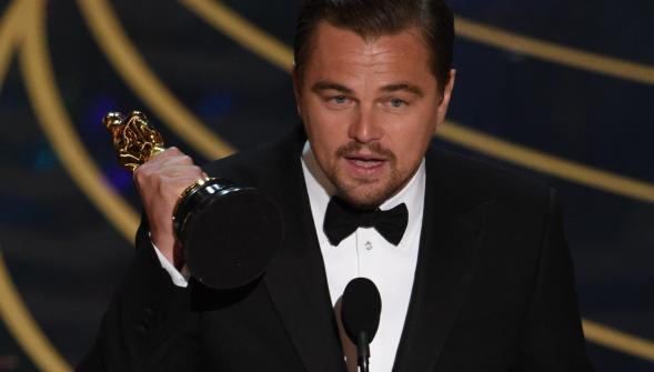 Après trois nominations infructueuses, l'acteur Leonardo DiCaprio a enfin décroché l'Oscar du meilleur acteur pour son interprétation dans The Revenant d'Alejandro Gonzalez Inarritu.