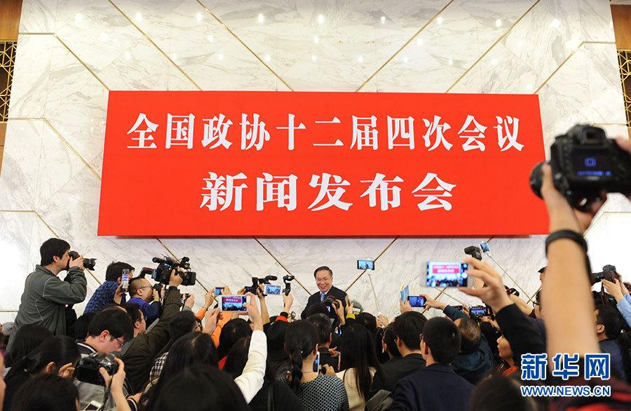 المجلس الوطني للمؤتمر الاستشاري السياسي للشعب الصيني يطلع وسائل الاعلام على القضايا الساخنة لهذا العام