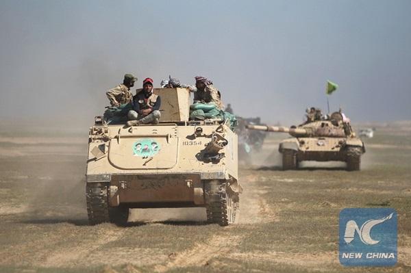 القوات العراقية تحرر خمس قرى من سيطرة داعش شمال بغداد
