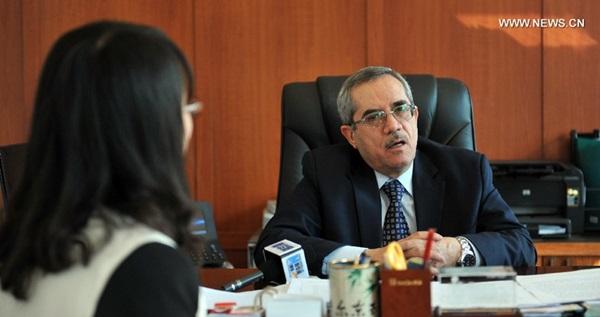 تجري مراسلة شينخوا مقالة خاصة مع السفير الأردني لدى الصين يحيى القرالة