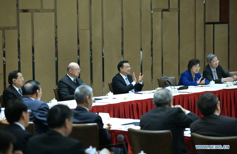 Des dirigeants chinois consultent des conseillers politiques sur la gouvernance de l