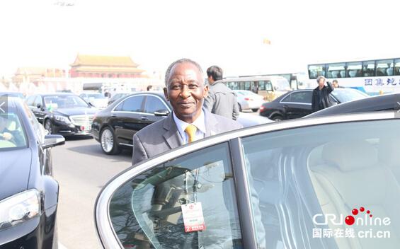 坦桑尼亚驻华大使欣博。摄影:黎萌