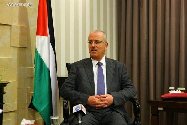 تلقى رئيس الوزراء الفلسطيني رامي الحمد الله مقابلة خاصة في رام الله