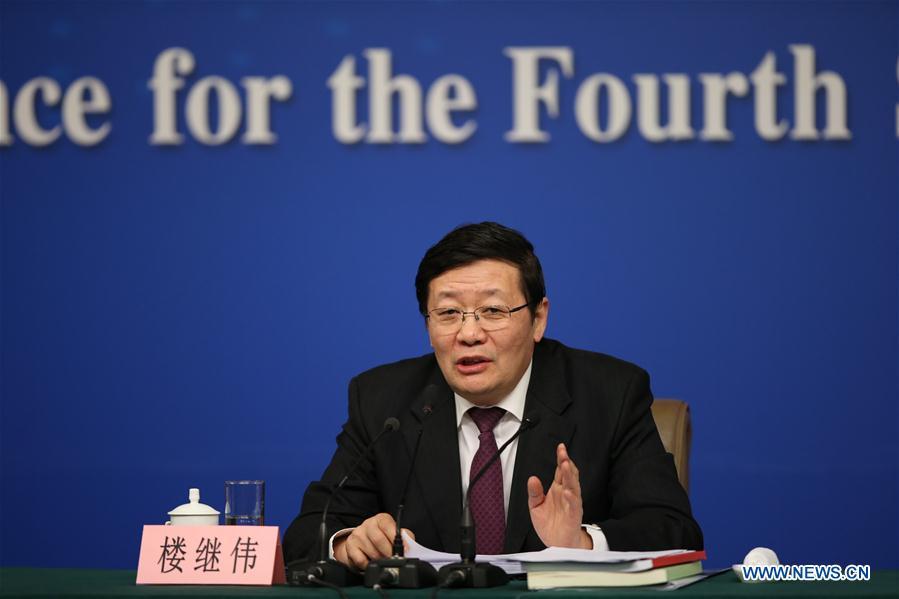 Conférence de presse du ministre des Finances