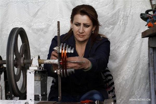 الظروف الصعبة التي تعيشها سوريا