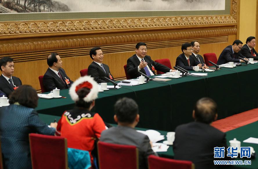 Chine : le président Xi rencontre les députés de l