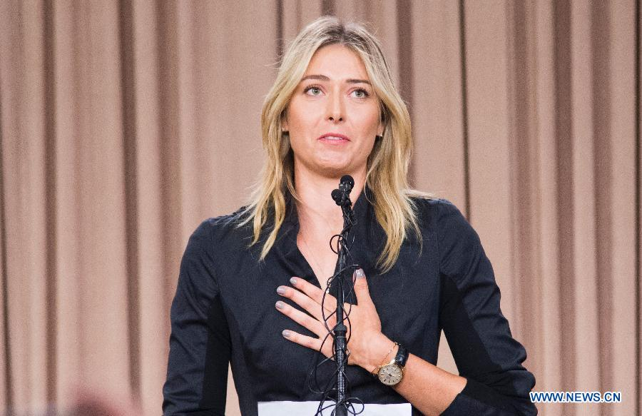 De grandes marques suspendent leurs contrats avec Sharapova après son annonce d