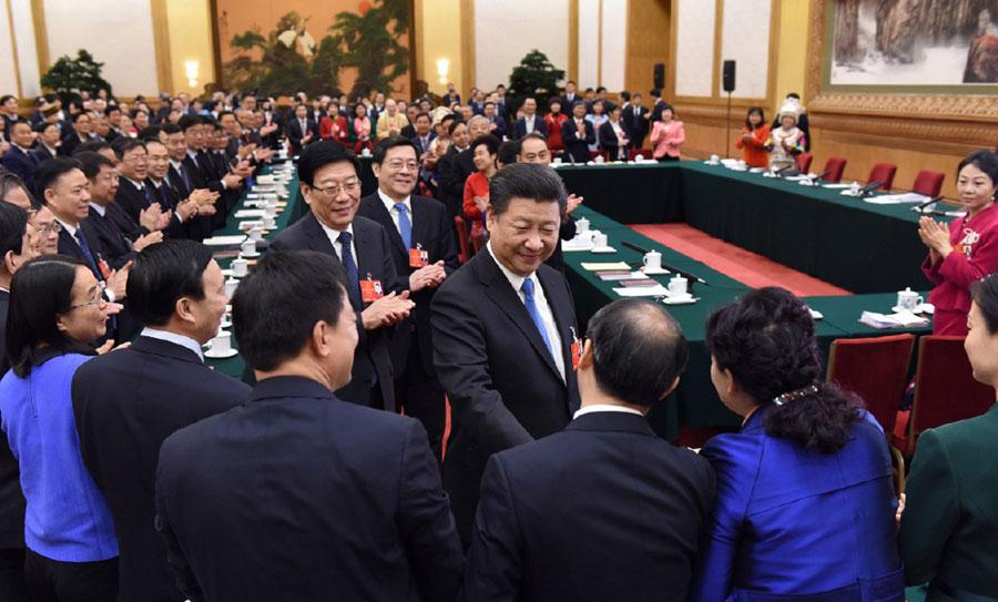 Xi Jinping parle de la réforme du côté de l
