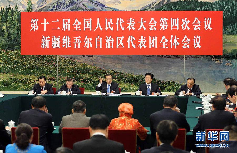 Le Premier ministre évoque la stabilité au Xinjiang