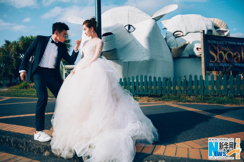 Photo de mariage de Nicholas Wu et Liu Shishi