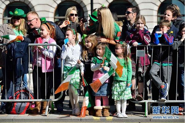 Fête de la Saint Patrick à Londres