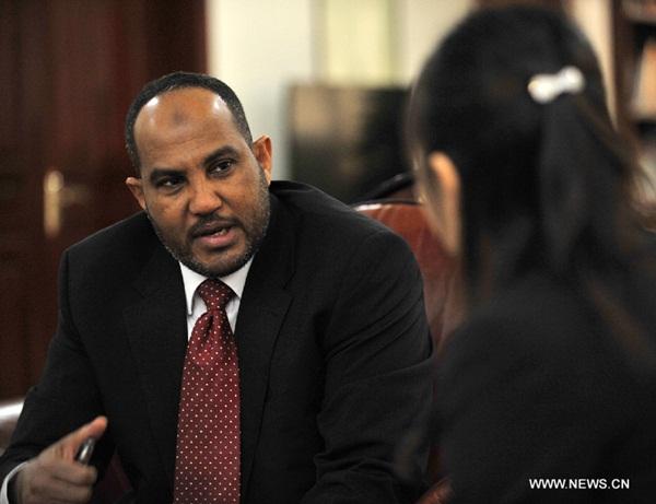 عمر عيسى أحمد، السفير السوداني لدى الصين
