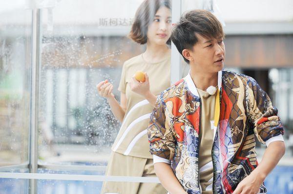 韩庚跟吴磊在一起可爱的图片