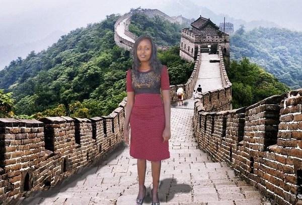 Avec ses photos-montages, une Kenyane a fait buzz chez des internautes