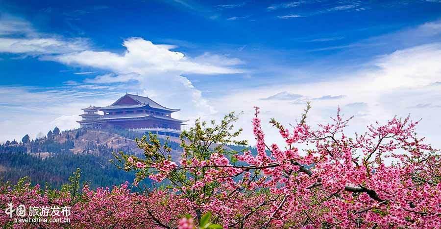 中国网3月22日讯 艾山风景名胜区位于邳州市北部,苏鲁两省交界处.