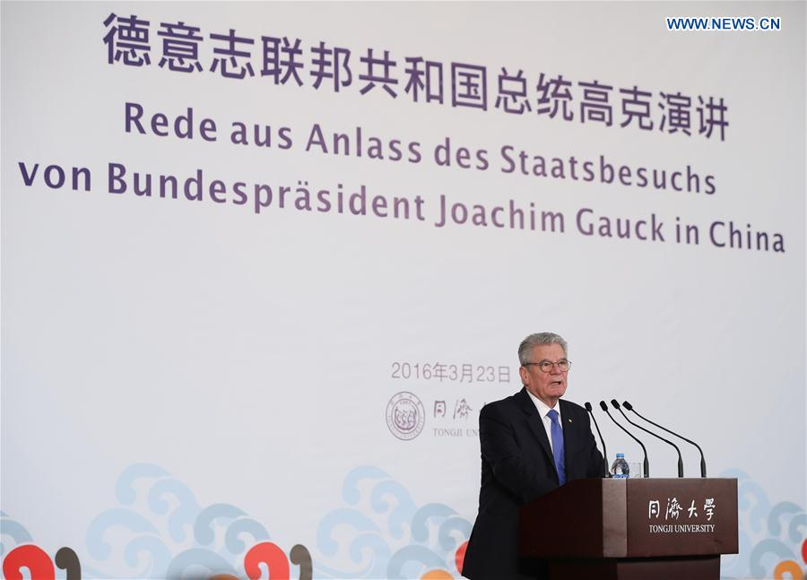 German President Gauck is upbeat about relations with China - CCTV ...