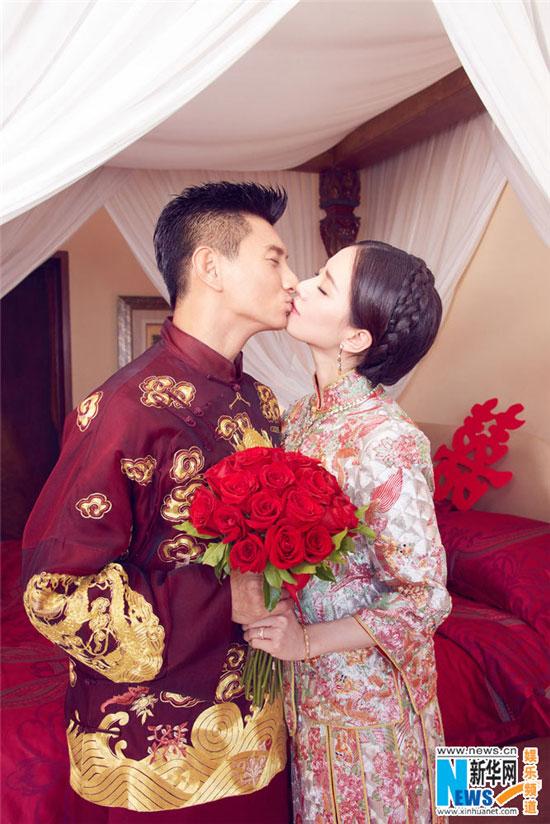 "Nicky Wu et Liu Shishi se sont dit ""oui """