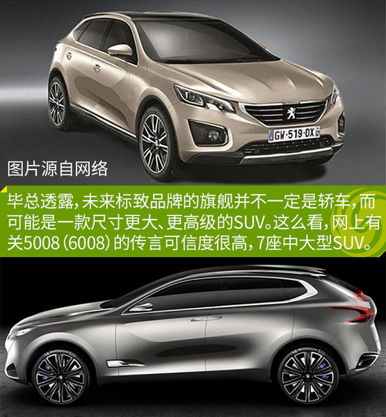 东风标致新款SUV谍照 或为全新4008高清图片