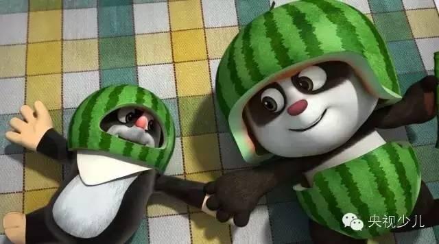 捷合拍动画片 熊猫和小鼹鼠 登陆央视少儿频道高清图片