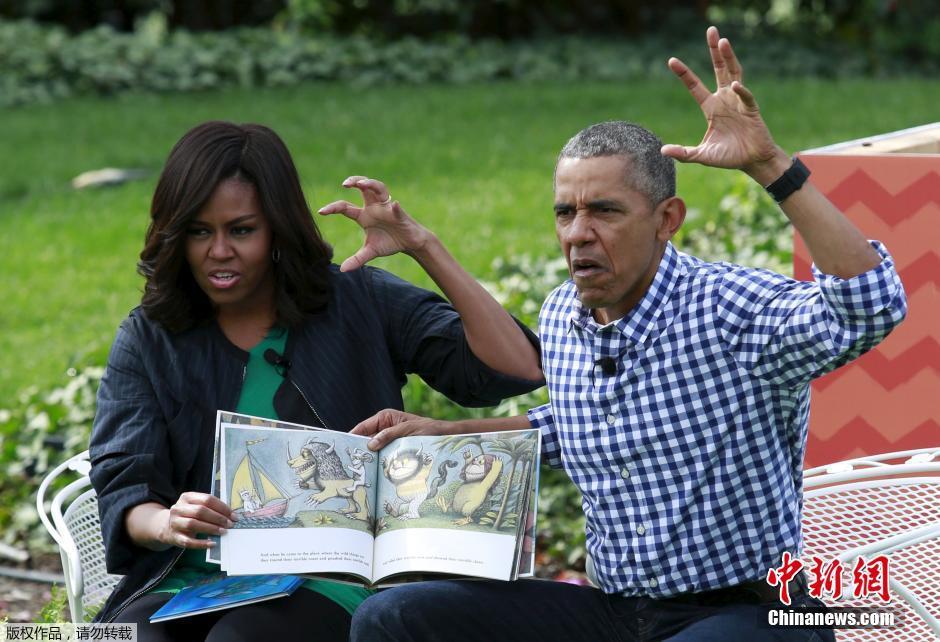 Chasse aux œufs de Pâques à Washington avec Barack et Michelle Obama