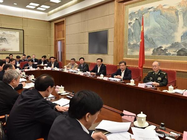 حضر نائب رئيس مجلس الدولة الصيني وانغ يانغ ندوة حول تخفيف حدة الفقر