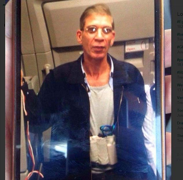 Un passager a pris un selfie avec le pirate de l