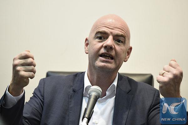 Infantino insiste sur la transparence de la FIFA