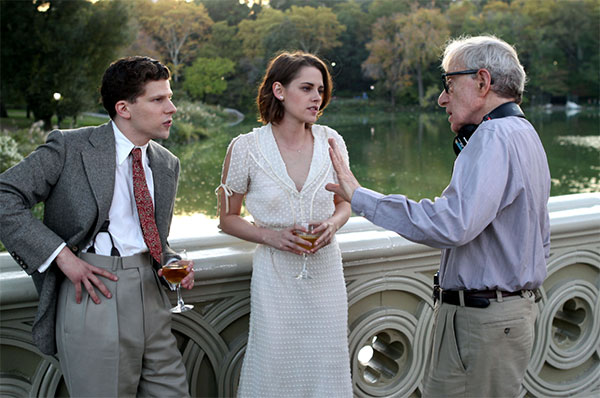 "Woody Allen has produced a film that will open the Cannes Film festival. Called ""Cafe Society"", it demonstrates, he says, ""why life is worth living""."