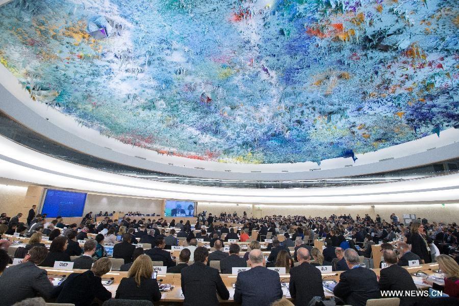 انعقد اجتماع رفيع المستوى في الأمم المتحدة بشأن تقاسم مسؤولية اللاجئين السوريين في جنيف