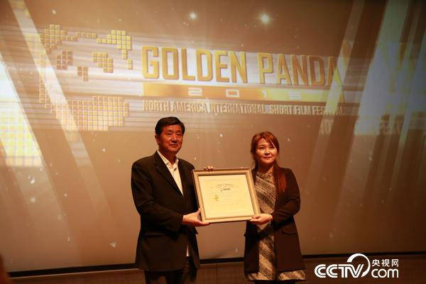 Zhang Junhui (L), Dean of the Beijing Film Academy, accepted invitation as the Chairman of the 2016 Golden Panda Short Film Festival committee.