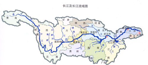 长江地图全图高清版