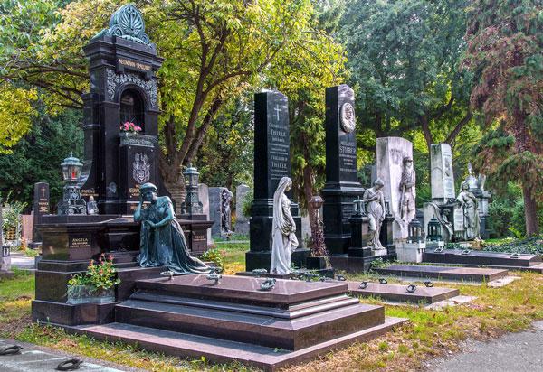 3. Le cimetière central de Vienne (Autriche)