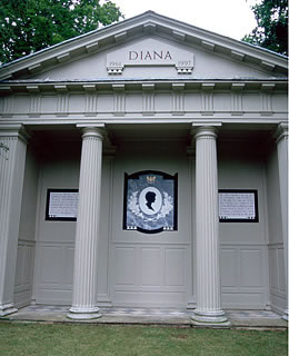 1. Diana Spencer : Northamptonshire (Royaume-Uni)