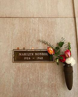 3. Marilyn Monroe : Westwood Memorial Park (Etats-Unis)