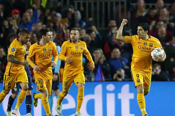 Barcelona 2 - Atletico Madrid 1