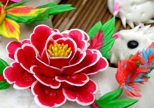 """В провинции Шэньси прошли соревнования по приготовлению традиционных лакомств """"мяньхуа"""""""