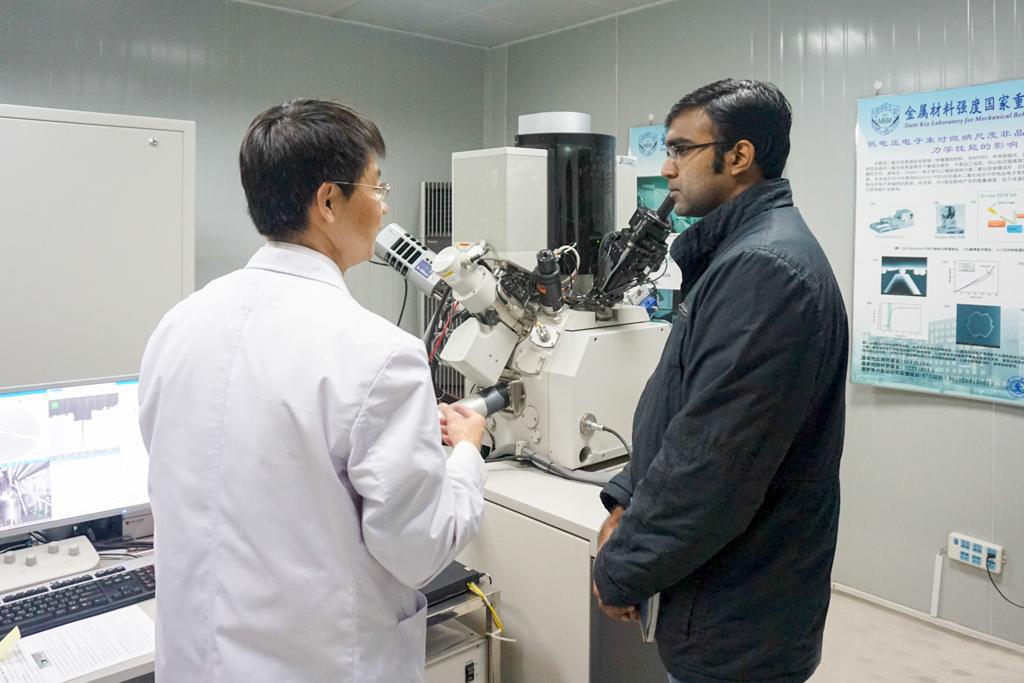 Архив:В Сиане открылась международная лаборатория по развитию нанотехнологий