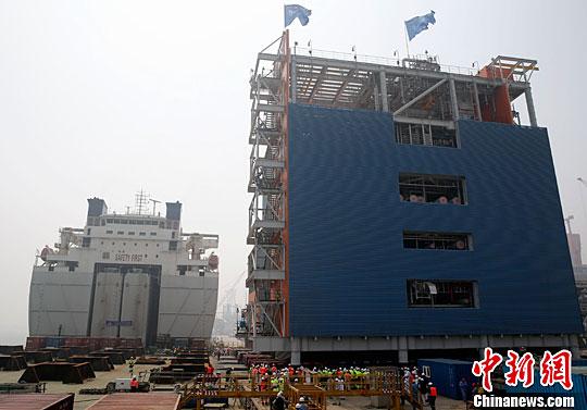 """Китай отгрузил первую партию оборудования для производства сжиженного природного газа для """"Ямал СПГ"""""""