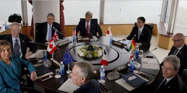 В Хиросиме сегодня завершается встреча глав МИД G7