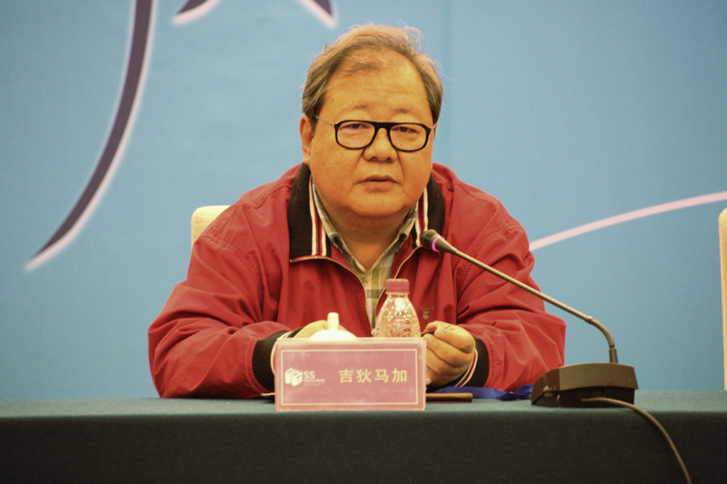 "As Jidi Majia, poet and vice chairman of the Chinese Writers Association, said that the studio was set up to ""build a communication platform for Chinese poets and foreign poetry translators."""