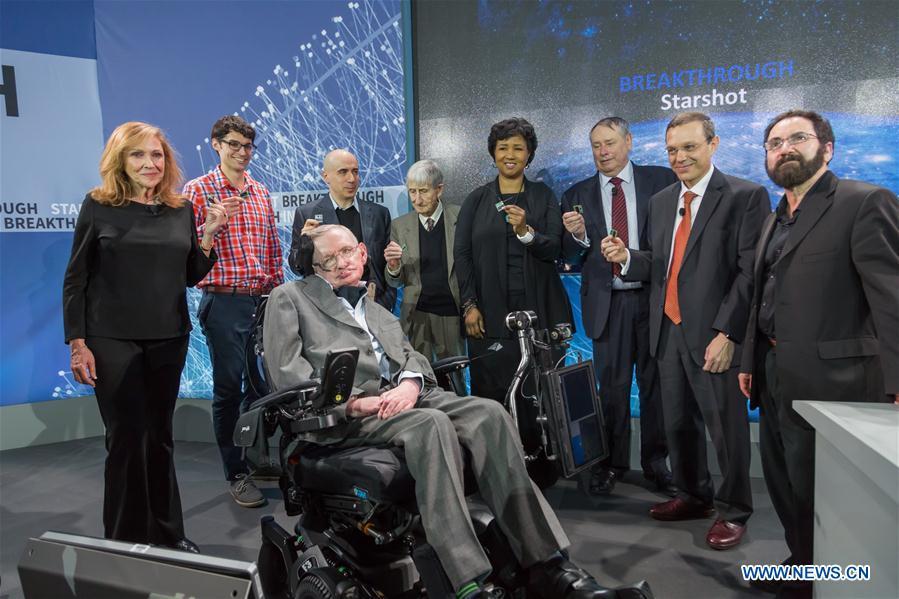 Стивен Хокинг и Юрий Мильнер отправят в космос микрозонды