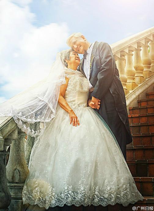 Ils refont leurs photos de mariage… à 81 ans !